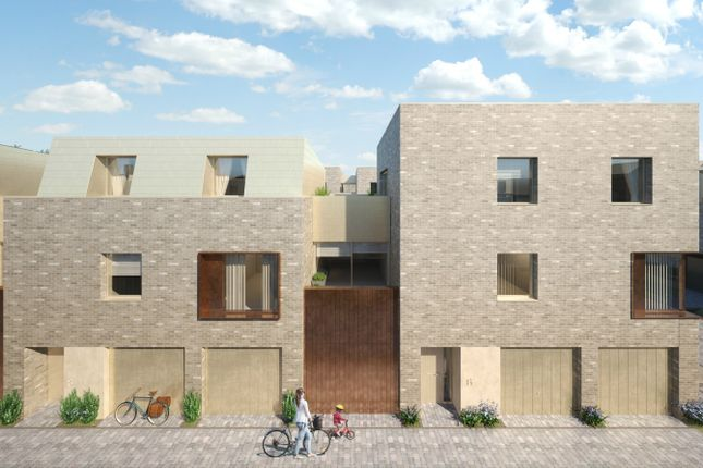 Thumbnail Terraced house for sale in Athena Sales & Marketing Suite, Eddington Avenue, Cambridge