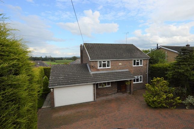 Thumbnail Detached house for sale in Marford Hill, Marford, Wrexham