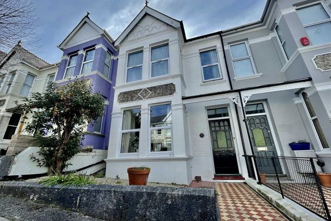 Thumbnail Terraced house to rent in Edgcumbe Park Road, Peverell, Plymouth