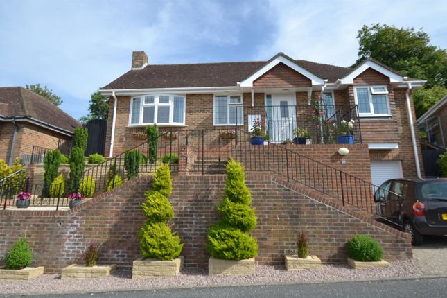 Thumbnail Detached bungalow for sale in Sussex Gardens, East Dean, Eastbourne
