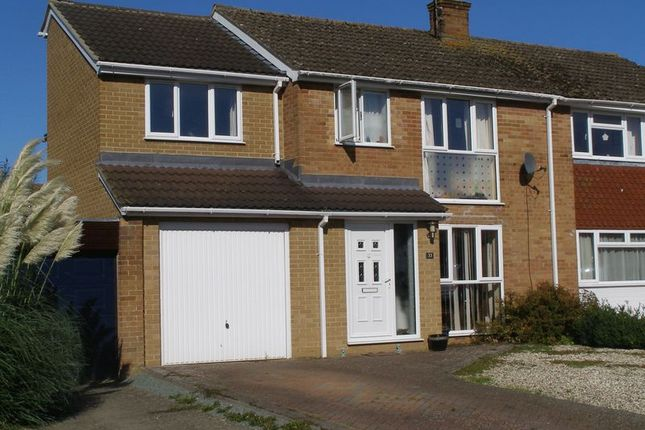 Thumbnail Semi-detached house to rent in Beech Road, Eynsham, Witney