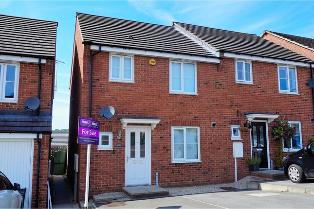 Thumbnail Semi-detached house for sale in East Street, Chesterfield