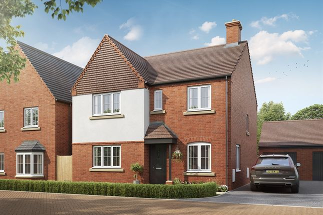 "Thumbnail Detached house for sale in ""The Mayfair"" at Mentmore Road, Cheddington, Leighton Buzzard"