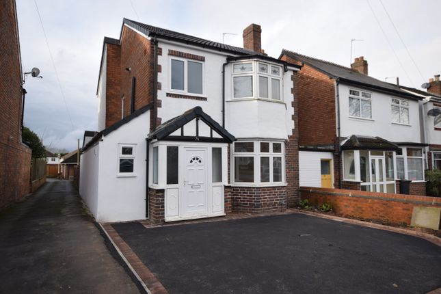 Thumbnail Detached house for sale in Delamere Road, Hall Green, Birmingham