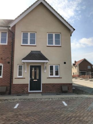 Thumbnail End terrace house for sale in Bill Money Way, Cholsey