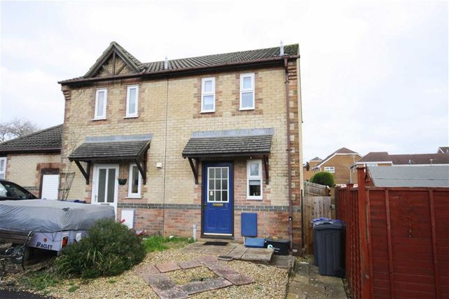 Thumbnail End terrace house for sale in Swayne Close, Chippenham, Wiltshire