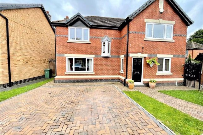 Thumbnail Detached house for sale in Langford Drive, Leigh, Lancashire