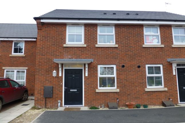 Thumbnail Semi-detached house for sale in Crabtree Leys Main Street, Offenham, Evesham