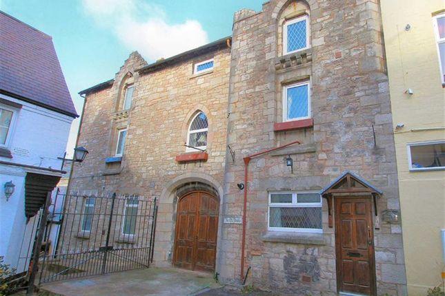 Thumbnail Town house for sale in Back Row, Denbigh, Denbighshire