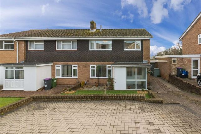 Thumbnail Semi-detached house for sale in Forest Close, Coed Eva, Cwmbran