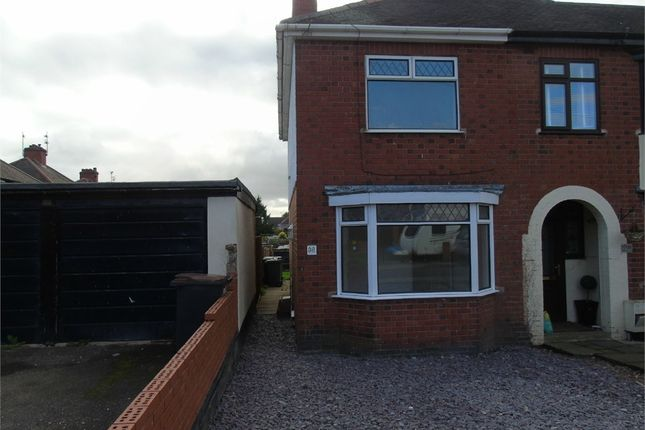 Thumbnail Semi Detached House For Sale In Beaumont Place Nuneaton