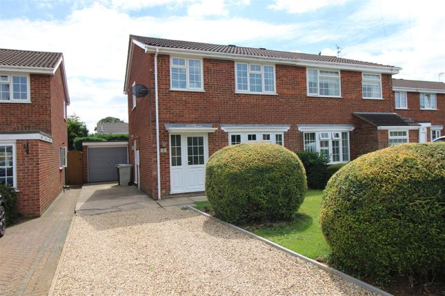 Thumbnail Semi-detached house for sale in Finch Close, Uppingham, Oakham