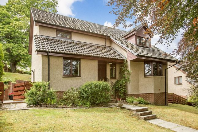 Thumbnail Detached house for sale in Beechmount, 30 Barr Road, Galashiels