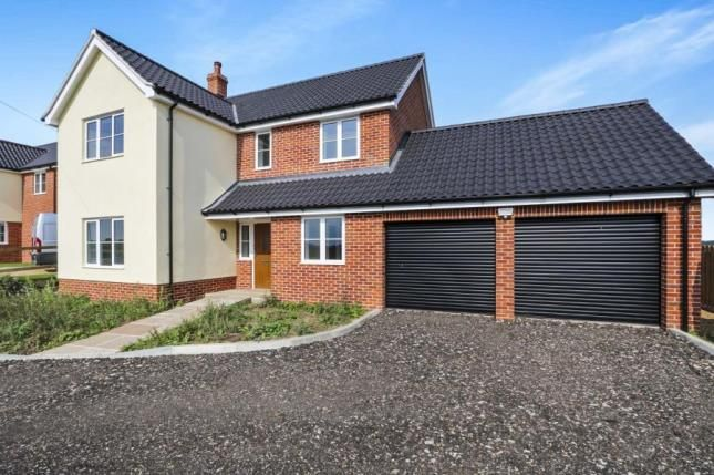 Thumbnail Detached house for sale in Wreningham, Norwich