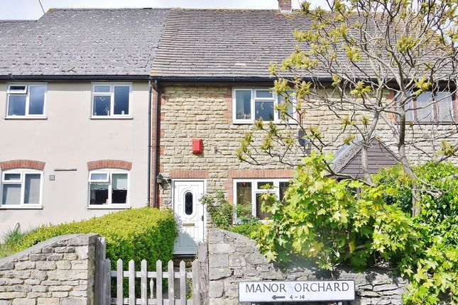 Thumbnail Terraced house for sale in Manor Orchard, Cricklade, Swindon