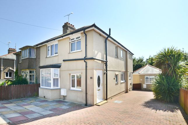 Thumbnail Semi-detached house for sale in Tencreek Avenue, Penzance, Cornwall