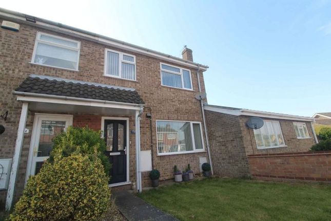 Thumbnail Terraced house for sale in Fern Gardens, Belton, Great Yarmouth