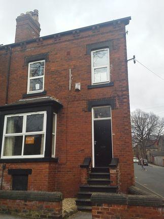 Thumbnail End terrace house to rent in Richmond Avenue, Hyde Park, Leeds