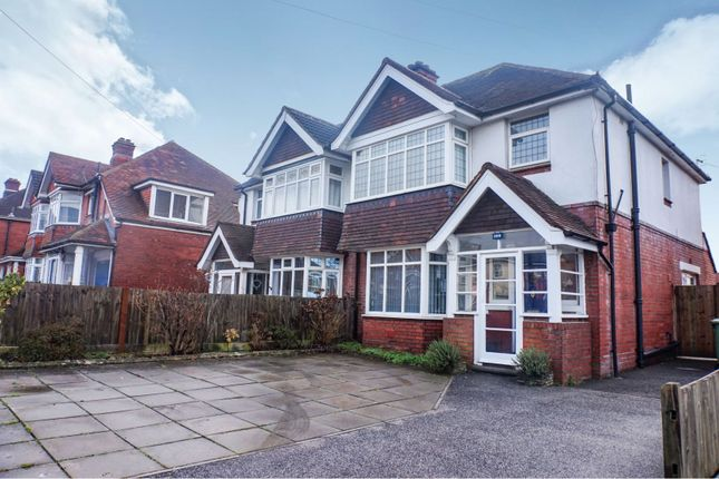 Thumbnail Semi-detached house for sale in Winchester Road Upper Shirley, Southampton