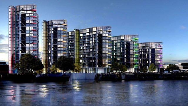 Thumbnail Duplex for sale in Riverlgiht, London