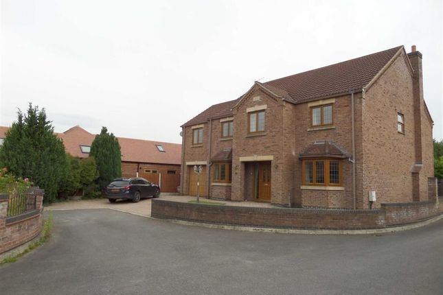 Thumbnail Detached house for sale in Crown Gardens, Scotter, North Lincolnshire