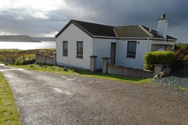 Thumbnail Detached bungalow for sale in Ormiscaig, Aultbea, Achnasheen