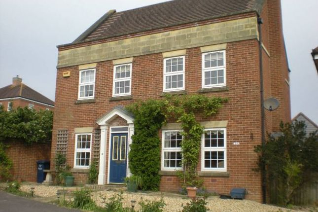 Thumbnail Detached house to rent in 26 King John Road, Gillingham, Dorset.