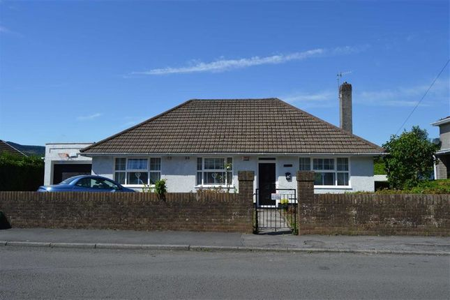 Thumbnail Detached bungalow for sale in Highland Close, Merthyr Tydfil