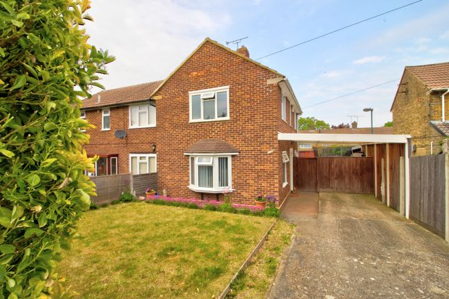 Thumbnail Semi-detached house for sale in Crundale Road, Gillingham