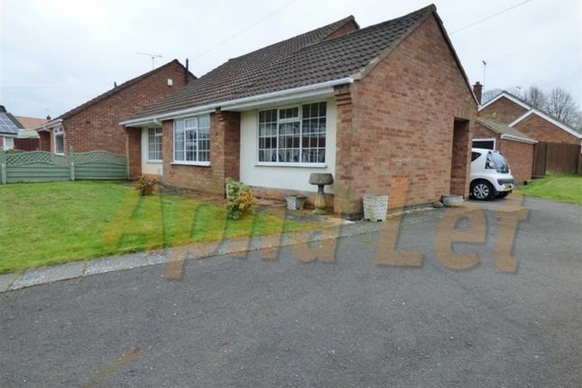 Thumbnail Bungalow to rent in Newbold Close, Coventry