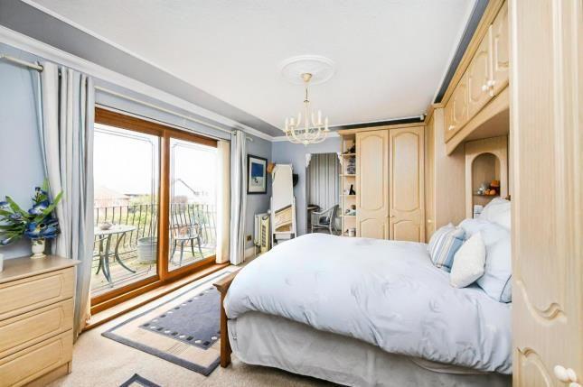 Master Bedroom of Hullbridge, Essex, . SS5