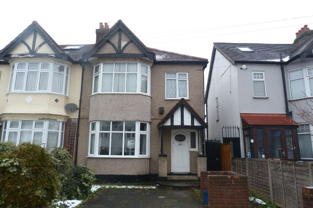 Thumbnail Semi-detached house for sale in Vaughan Gardens, North Ilford
