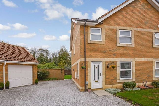 Thumbnail Semi-detached house for sale in The Haven, Victoria Dock, Hull