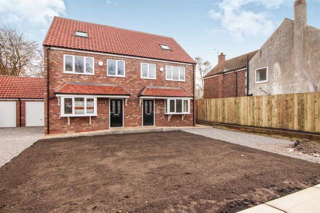 Thumbnail Semi-detached house for sale in Plot 3, Main Street, Sigglesthorne, Beverley