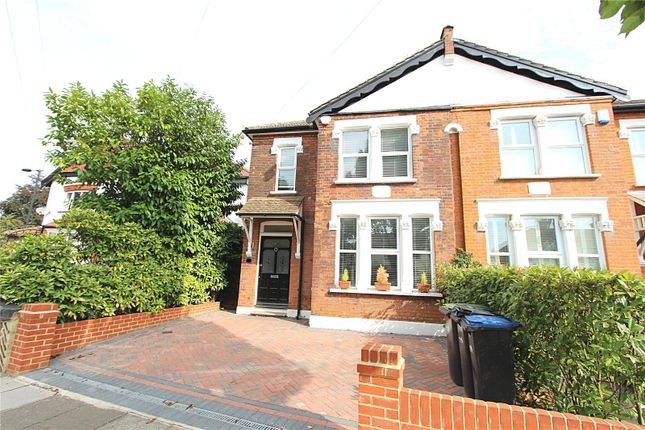Thumbnail Semi-detached house to rent in Ridge Road, Winchmore Hill, London