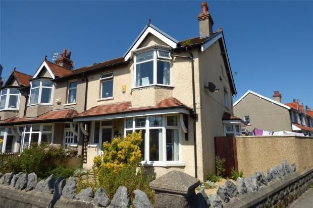 3 bed end terrace house for sale in Stanley Road, Heysham, Morecambe