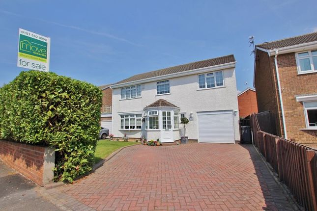 Thumbnail Detached house for sale in Mill Lane, Greasby, Wirral