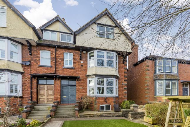 Thumbnail Semi-detached house for sale in Spencer Avenue, Leek, Staffordshire