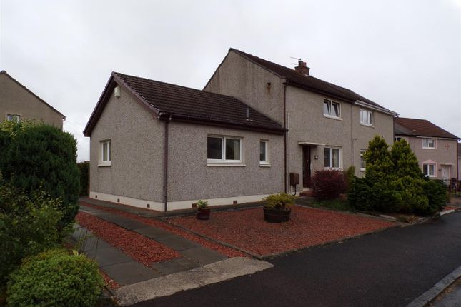 Thumbnail Semi-detached house for sale in Victoria Crescent, Airdrie
