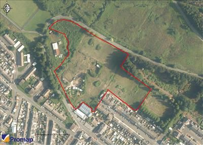 Thumbnail Land for sale in Residential Development Site, Rhigos Road, Treherbert