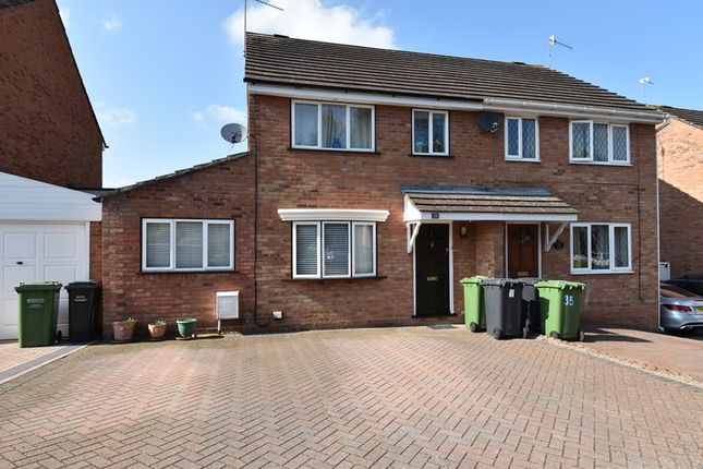 Thumbnail Semi-detached house for sale in Westbury Avenue, Droitwich