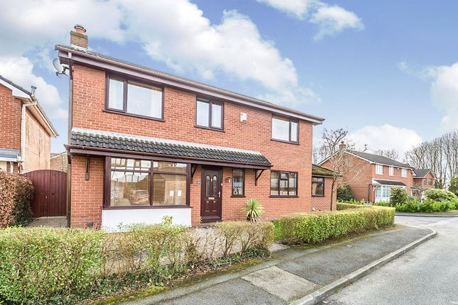 Thumbnail Detached house for sale in Fernleigh, Leyland, Lancashire