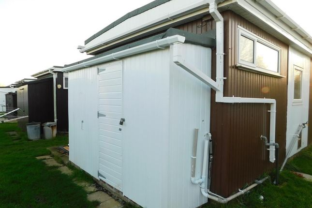 Rear Shed of Prairie Lane, Miami Beach, Sutton On Sea, Lincs. LN12