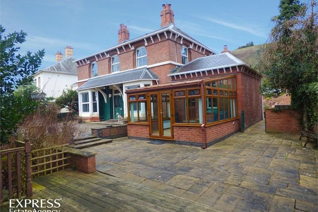 Thumbnail Detached house for sale in Milford Road, Newtown, Powys