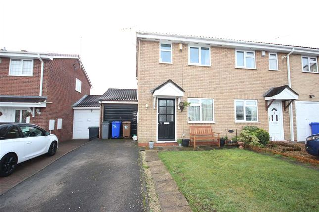 Thumbnail Semi-detached house to rent in Rushcliffe Drive, Meir Park, Stoke On Trent