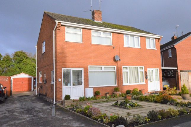 Thumbnail Semi-detached house for sale in Finchett Drive, Chester