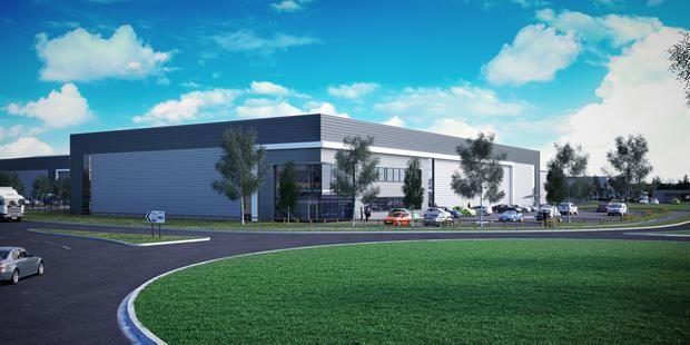 Thumbnail Light industrial to let in Site One, Zone Two, Parkway, Deeside Industrial Park, Deeside, Flintshire