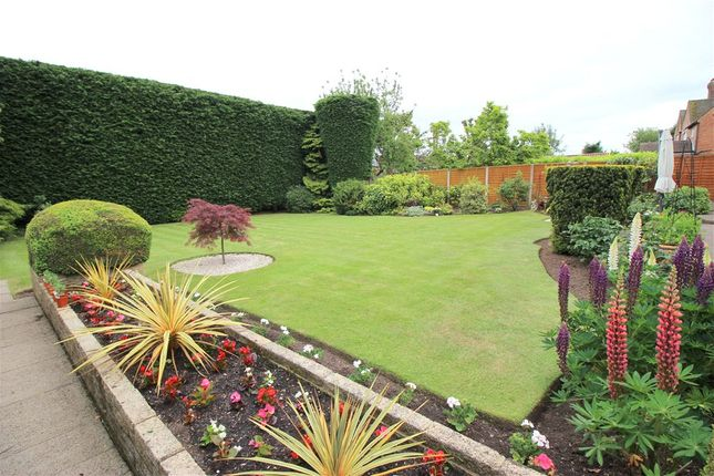 Rear Garden of Parkfields, Duffield Road, Derby DE22