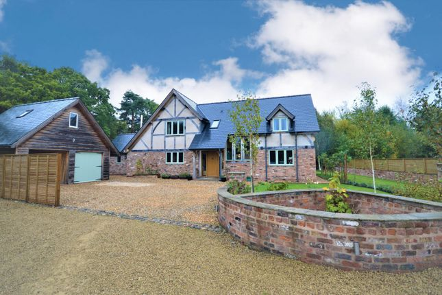 Thumbnail Detached house to rent in Middlewich Road, Lower Peover, Knutsford