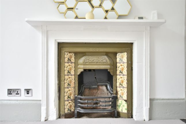 Period Fireplace of Albion Terrace, Bath, Somerset BA1